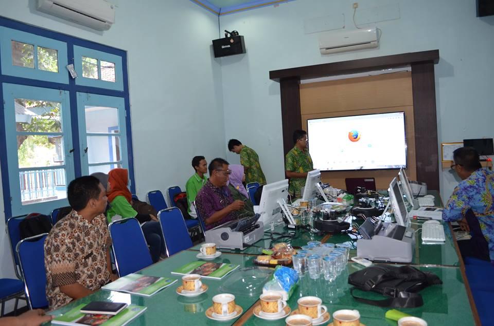 Pelatihan Billing Sistem Online di Kab. Probolinggo