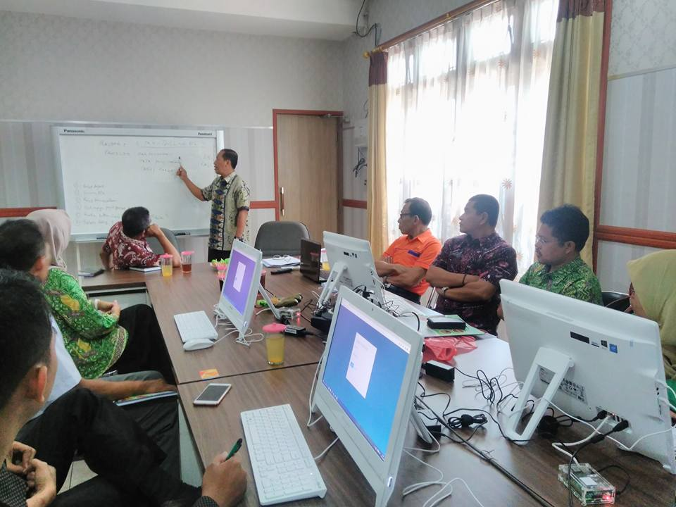 Pelatihan Billing Sistem Online di Kab. Lamongan