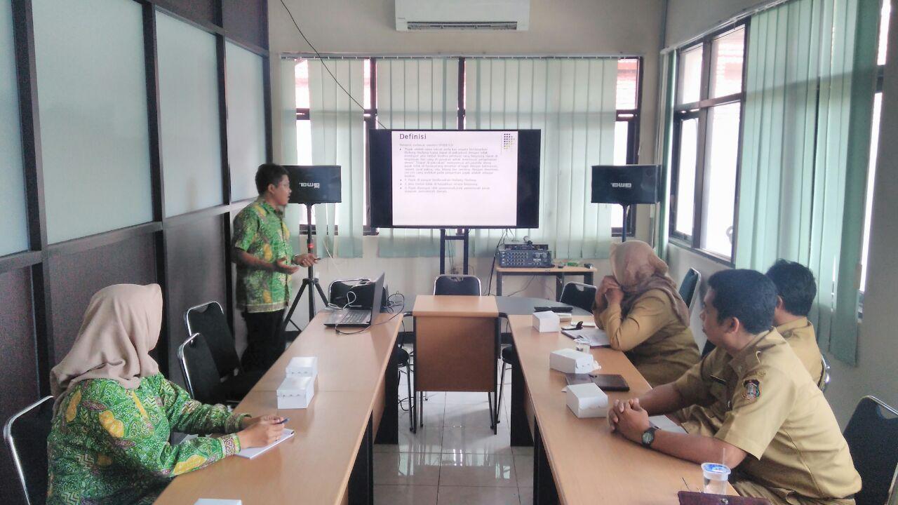 Sosialisasi Billing System Online di Blitar