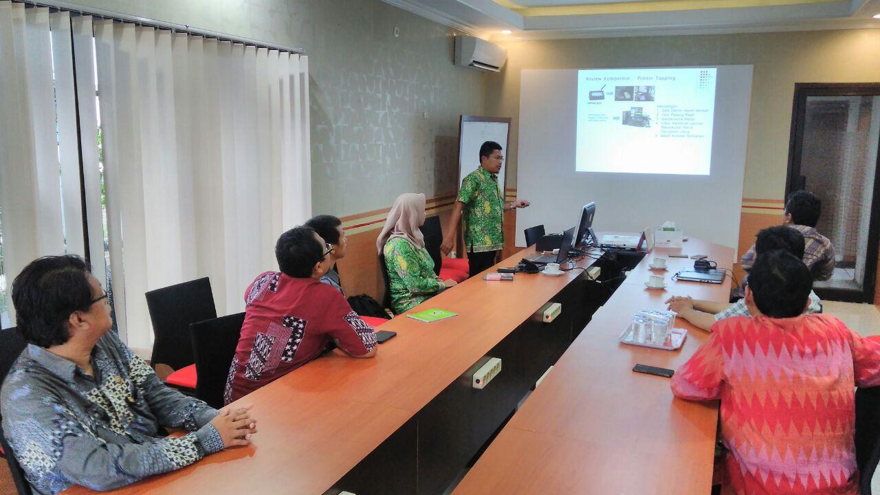 Sosialisasi Billing System Online di Kediri