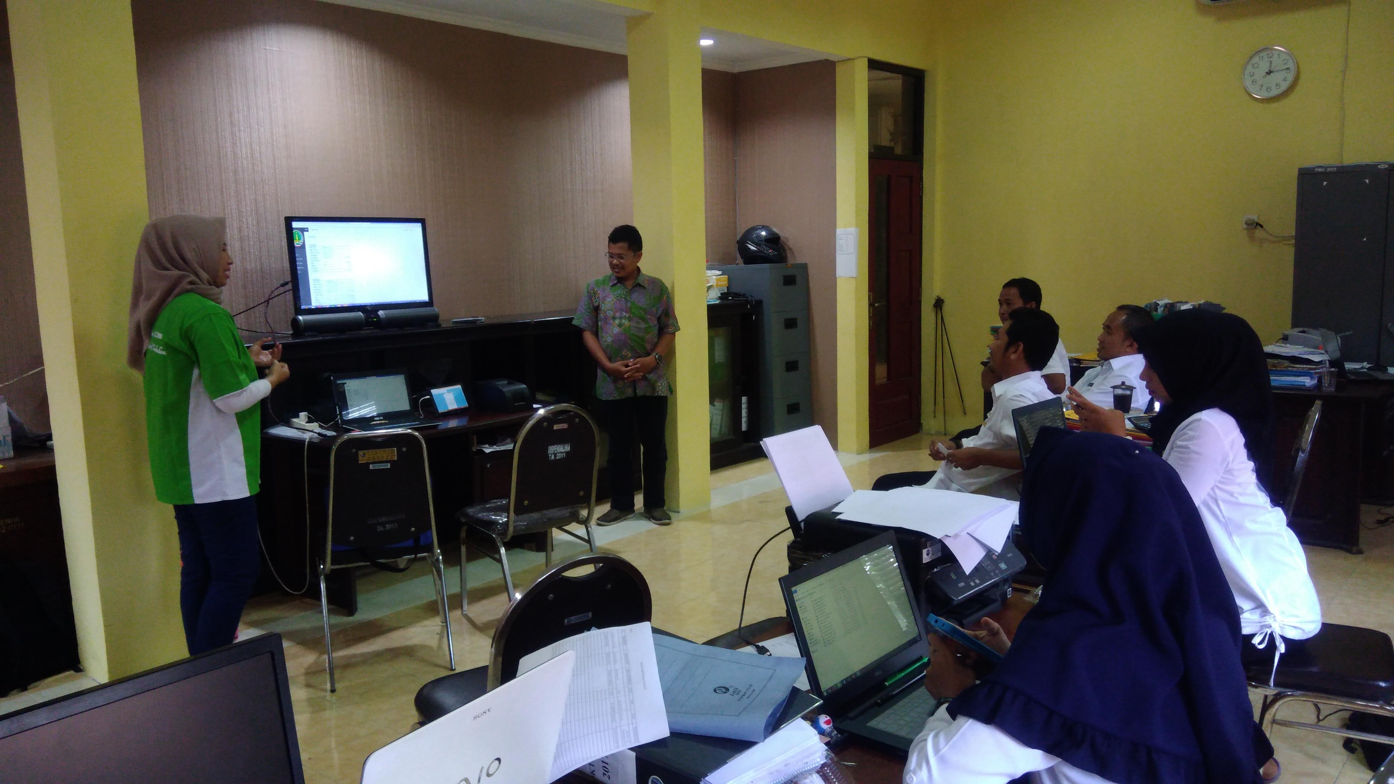 Sosialisasi Billing System Online di Kab. Sampang Madura