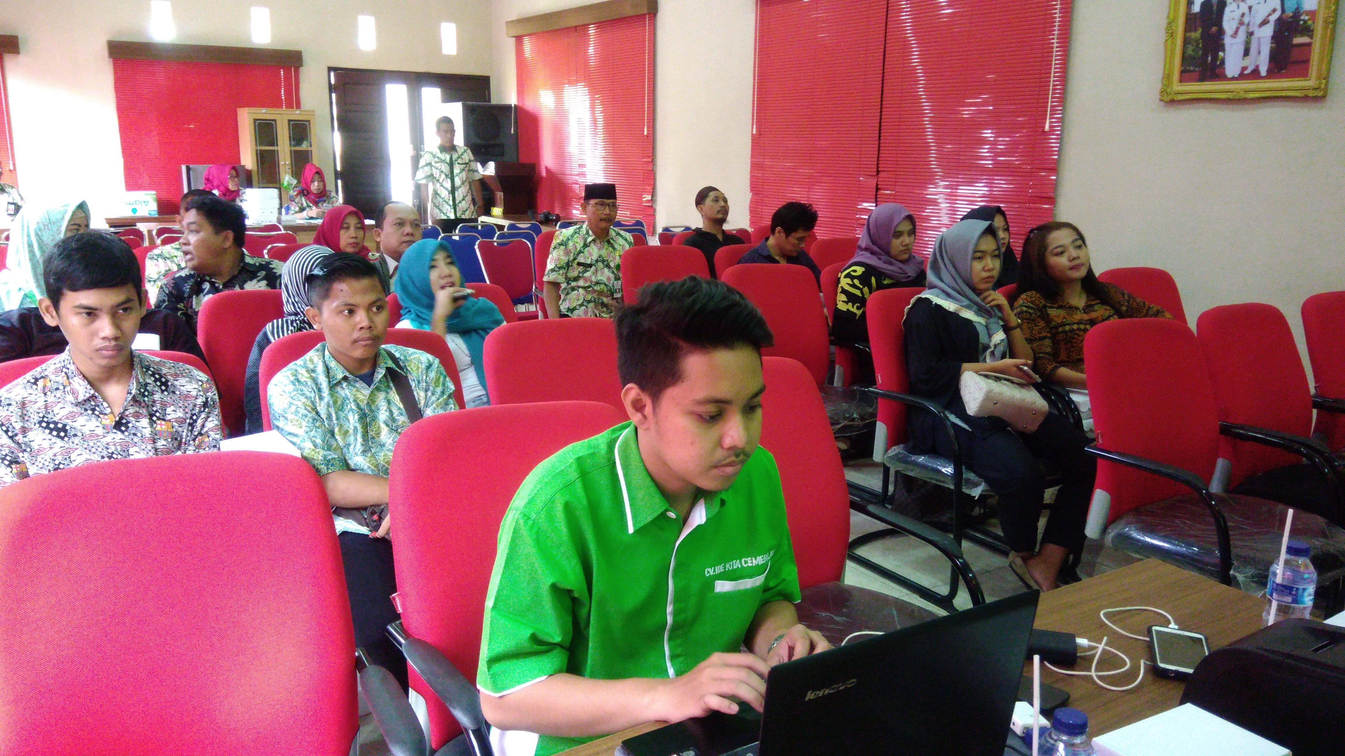 Sosialisasi Billing System Online di Kota Probolinggo